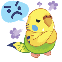 Tweet Tweet-Sittich Facebook sticker #1