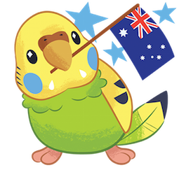 Tweet Tweet-Sittich Facebook sticker #4