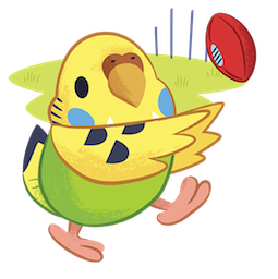 Facebook / Messenger sticker Tweet Tweet-Sittich #5