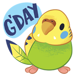 Tweet Tweet-Sittich Facebook sticker #6