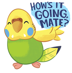 Tweet Tweet-Sittich Facebook sticker #7