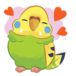 Tweet Tweet-Sittich Facebook sticker #9