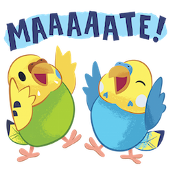 Tweet Tweet-Sittich Facebook sticker #10