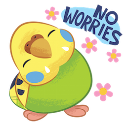 Tweet Tweet-Sittich Facebook sticker #11