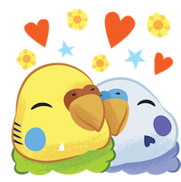 Tweet Tweet-Sittich Facebook sticker #12
