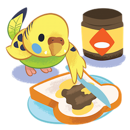 Tweet Tweet-Sittich Facebook sticker #15
