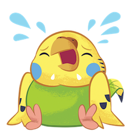Tweet Tweet-Sittich Facebook sticker #19