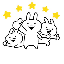 Ultra Usagyuuun Facebook sticker #2