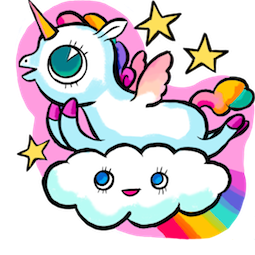 Facebook / Messenger Ulysses S. Unicorn sticker #4