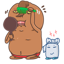Unchi & Rollie Facebook sticker #2