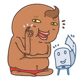Unchi & Rollie Facebook sticker #12