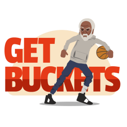 Uncle Drew Facebook sticker #6