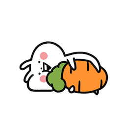 Usagyuuun Facebook sticker #7