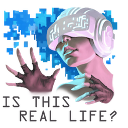 Virtual Reality Check Facebook sticker #9