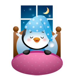 Sticker de Facebook Invierno patoso 21