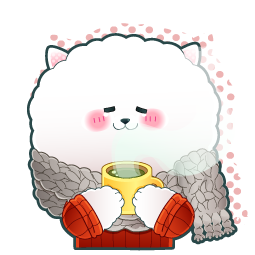 Wanderful Dog Facebook sticker #15