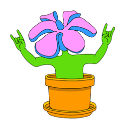 Wild flowers Facebook sticker #7