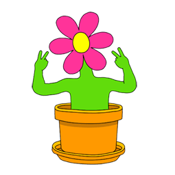 Wild flowers Facebook sticker #9
