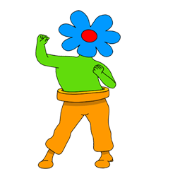 Wild flowers Facebook sticker #10