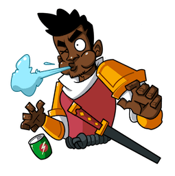 Yasuke Facebook sticker #2