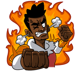 Yasuke Facebook sticker #4