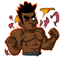 Yasuke Facebook sticker #8