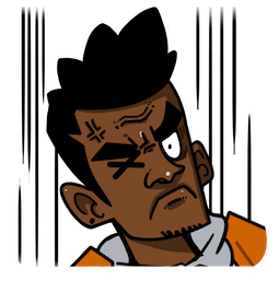 Yasuke Facebook sticker #10