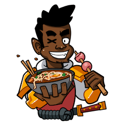 Yasuke Facebook sticker #13