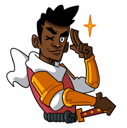 Yasuke Facebook sticker #14