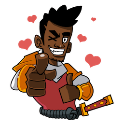 Yasuke Facebook sticker #15