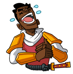 Yasuke Facebook sticker #16