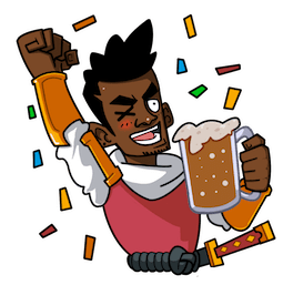 Yasuke Facebook sticker #19