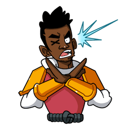 Yasuke Facebook sticker #20