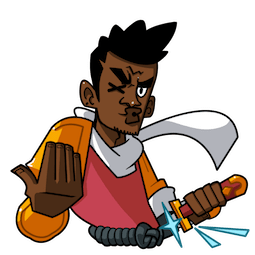 Yasuke Facebook sticker #23