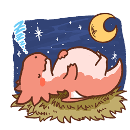 Dragon relax Facebook sticker #20